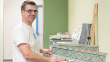 Alexander Bergmann Spezialist in seinem Handwerk JUST GmbH Zittau